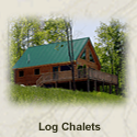 Bar Harbor Maine Cottages - Log Chalet - Bar Harbor Oceanfront Vacation Rental Home