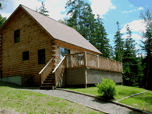 Bar Harbor Log Home Rentals Oceanfront Maine Vacation