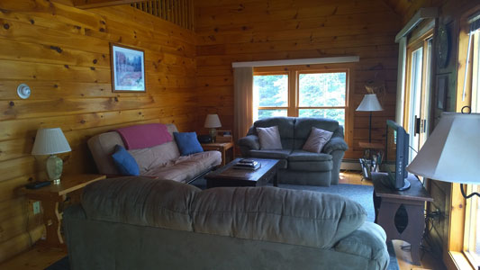 Bar Harbor Log Home Rentals | Oceanfront Maine Vacation Lodging on on